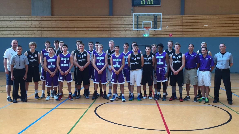 Junior Löwen U19 trafen auf High School Auswahl-Team