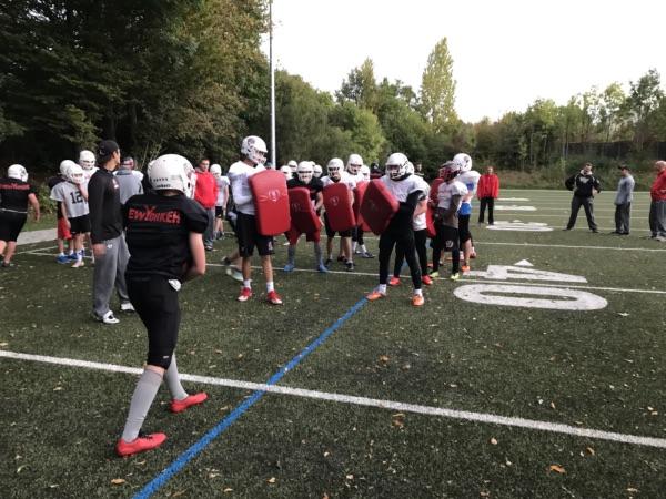 """Junior Löwen U16 erlebten Training der """"besonderen"""" Art"""