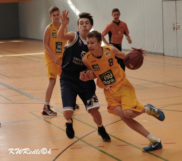 JBBL: Nichts zu holen gegen überlegene Baskets Münsterland