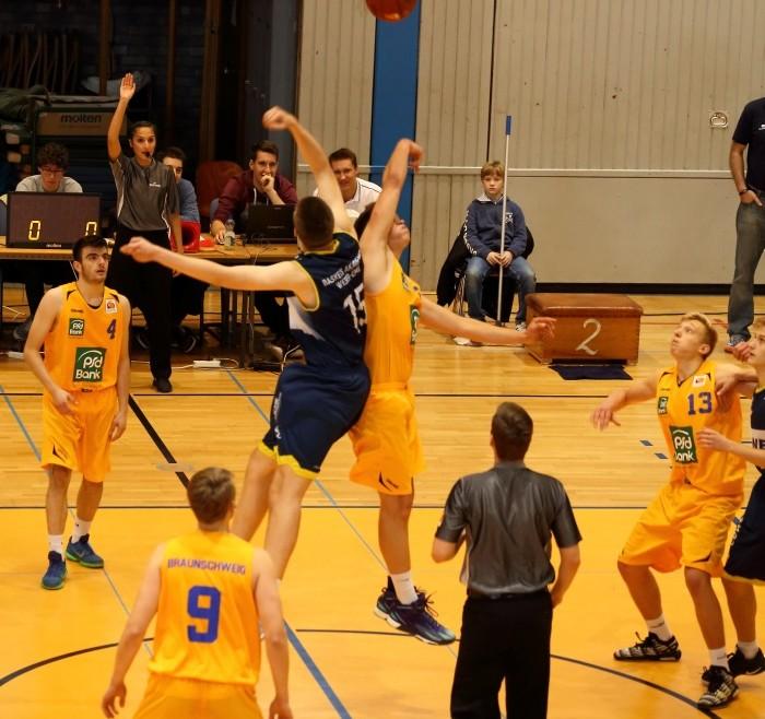 NBBL: Mit schnellem Spiel und aggressiver Verteidigung zum Sieg über Bremerhaven