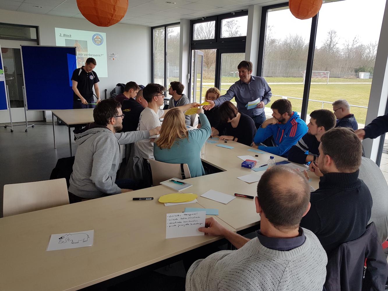 Zukunftsworkshop macht den Auftakt zu mehr Ehrenamt bei der SG