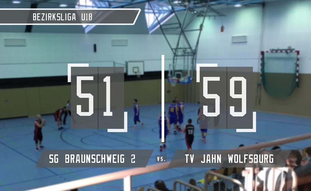 Unkonzentrierte U18-2 verliert gegen Wolfsburg