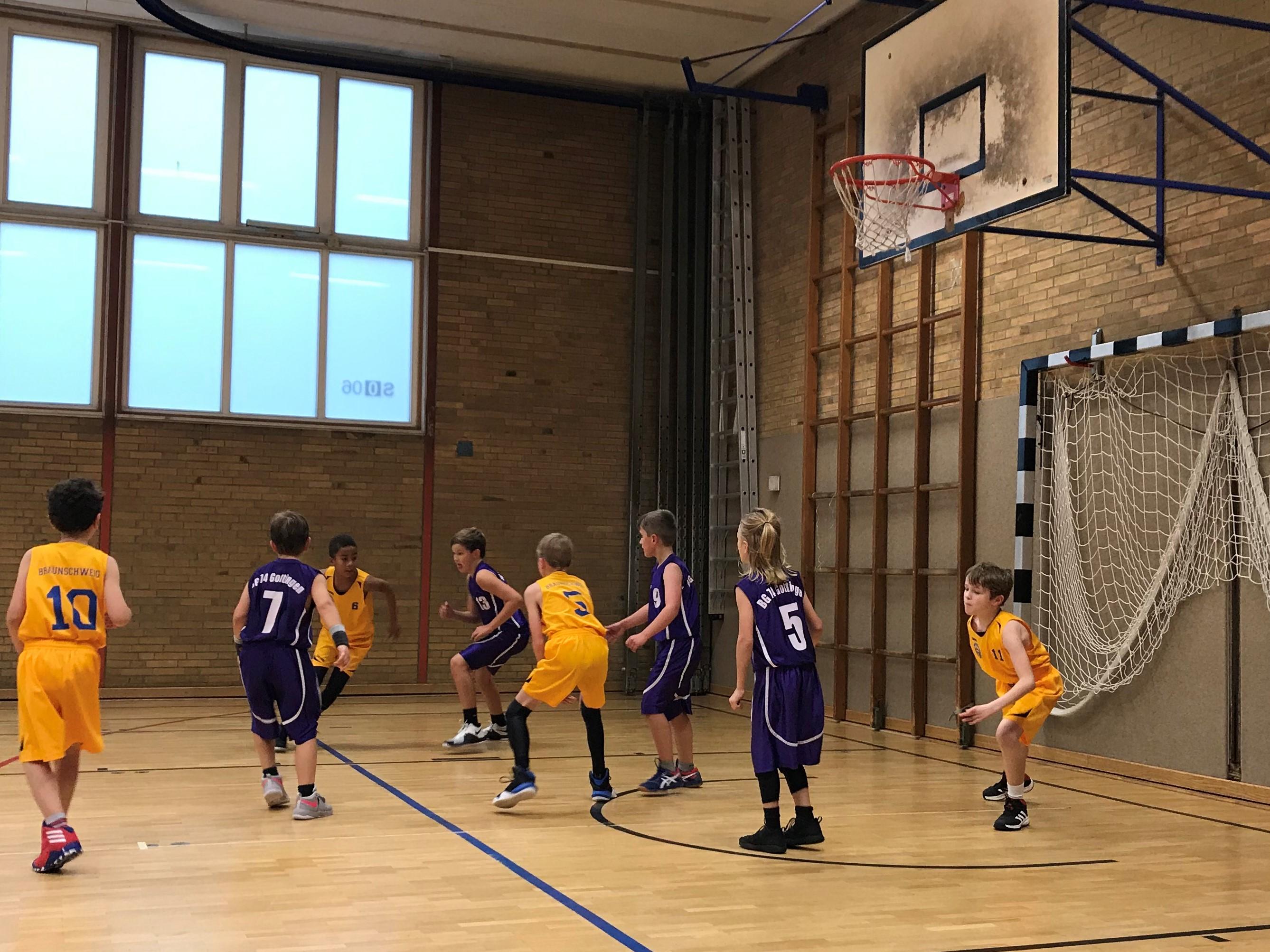 U10-1 gewinnt gegen beide Göttinger Mannschaften im Auftakt – Turnier der Bezirksoberliga