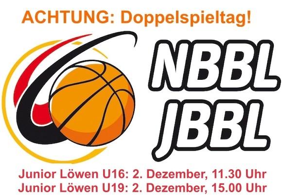 Junior Löwen: Spannender Doppelspieltag am Sonntag, 02.12.2018