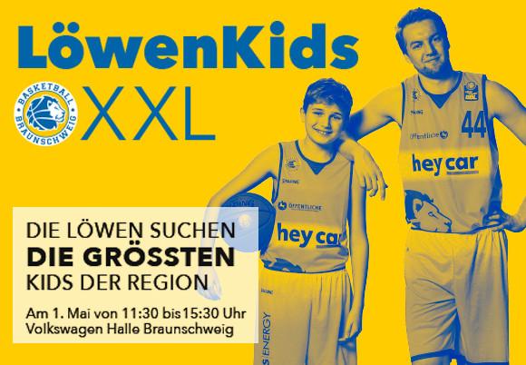 """""""LöwenKidsXXL"""": Suche nach größten Kids geht weiter"""