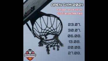 Open Gym 2021